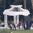 Superbe mariage de Mario Lopez et de Courtney Mazza à Punta Mita au Mexique le 1er décembre 2012.