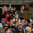 Kobe Bryant était présent avec ses deux filles et son ex-épouse pour lr triomphe de Beckham et des siens. David Beckham a pu célébrer avec ses fils Brooklyn, Cruz et Romeo son deuxième titre consécutif de champion de la MLS avec le Los Angeles Galaxy, grâce à la victoire sur le Dynamo Houston lors de la finale jouée le 1er décembre 2012 au Home Depot Center, et faire ses adieux en apothéose au club américain.