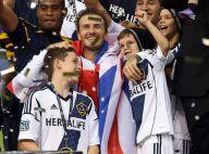 David Beckham champion : Adieux émouvants au Galaxy, ses trois fils très fiers