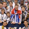 David Beckham et le LA Galaxy ont conservé le 1er décembre 2012 leur titre de champions de la MLS en battant le Dynamo Houston 3 à 1 au Home Depot Center.