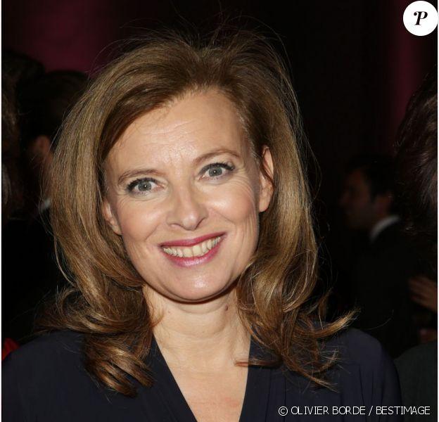 Valérie Trierweiler à Paris, le 27 novembre 2012.