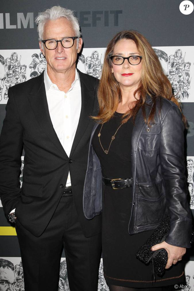 john slattery et sa femme talia balsam au moma l 39 occasion du du 5e annual benefit new york. Black Bedroom Furniture Sets. Home Design Ideas