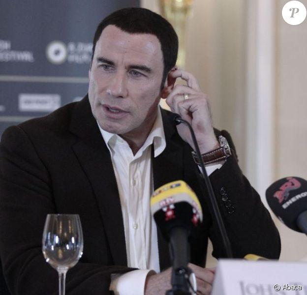 John Travolta à Zurich le 20 septembre 2012