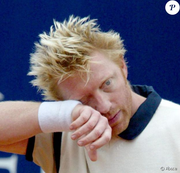 Boris Becker à Paris le 10 octobre 2004.