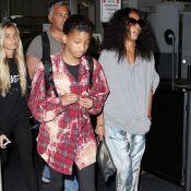 Jada Pinkett Smith, Willow et Jaden en mettent plein la vue à l'aéroport