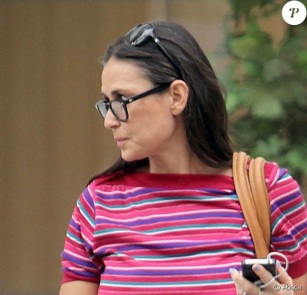 Demi Moore à New York le 27 juillet 2012