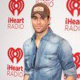 """Enrique Iglesias au 2e jour du festival de musique """"iHeartRadio"""" à Las Vegas, le 22 septembre 2012."""