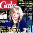 France Gall, le bonheur retrouvé... en couverture de  Gala , juillet 2012.