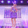 Hommage à Sophie Marceau lors de l'élection de Miss France 2013 le samedi 8 décembre 2012 sur TF1 en direct de Limoges