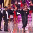 Gad Elmaleh et Jamel Debbouze lors de l'élection de Miss France 2013 le samedi 8 décembre 2012 sur TF1 en direct de Limoges