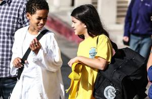 Blanket Jackson : Glace et grimaces après son cours de karaté