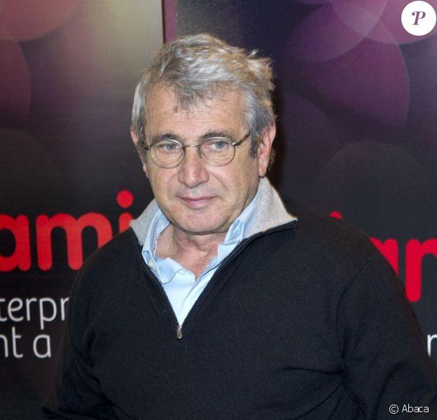 Michel Boujenah à la remise du Prix Théâtre Adami 2012 à Paris le 10 décembre 2012.