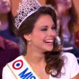 Marine Lorphelin, Miss France 20113, invitée du Grand Journal de Canal+ le lundi 10 décembre 2012