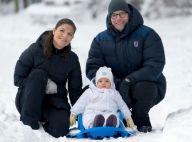 Princesse Victoria : Premières joies sur neige pour la princesse Estelle, 9 mois