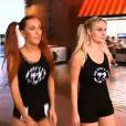 Gaëlle et Harmonie dans la bande-annonce des Ch'tis à Las Vegas sur W9 à partir de janvier 2013