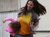 Jennifer Garner : Souriante avec sa fille Seraphina très excitée