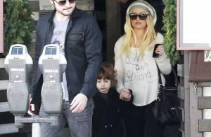 Christina Aguilera et Max : Sortie sans sourire pour la mère et le fils