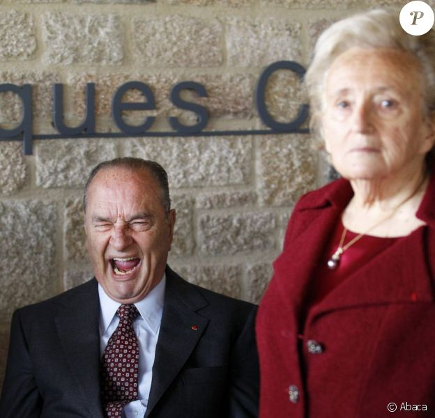 Jacques Chirac et Bernadette à Sarran (Corrèze), le 11 juin 2011.