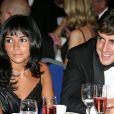 Raquel del Rosario et Fernando Alonso au gala de la FIA à Monaco le 8 décembre 2006.
