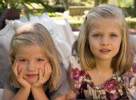 Letizia et Felipe d'Espagne : Les beaux yeux de Leonor et Sofia pour les voeux
