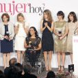 Letizia d'Espagne présidait le 19 décembre 2012 à Madrid la cérémonie des prix Mujer Hoy (Femme d'aujourd'hui).