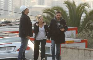Shakira : Enceinte de huit mois, elle joue l'inspecteur de chantier à Barcelone