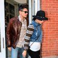 Katy Perry et John Mayer ont déjeuné ensemble le jour des 35 ans du chanteur, à New York, le 16 octobre 2012.