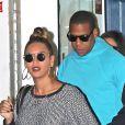 Beyonce et son mari Jay-Z à New York, le 20 octobre 2012.