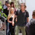 Britney Spears et Jason Trawick quittent leur hôtel à Miami, le 24 juillet 2012.