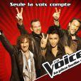 The Voice - les coachs : Jenifer, Garou, Florent Pagny et Louis Bertignac
