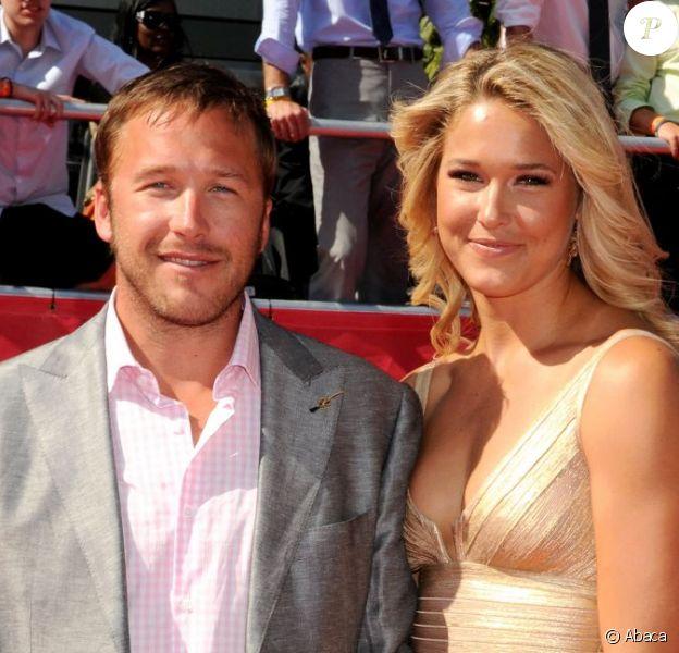 Bode Miller et sa femme Morgan à Los Angeles le 11 juillet 2012.