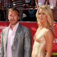 Bode Miller et son épouse Morgan à Los Angeles le 11 juillet 2012.
