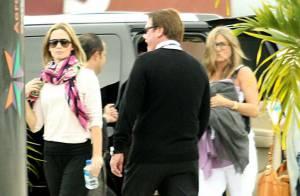 Jennifer Aniston et Emily Blunt et leurs amoureux : Fini les vacances...