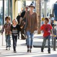 Heidi Klum en famille dans les rues de Los Angeles