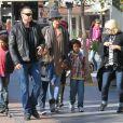 Heidi Klum en famille à Los Angeles