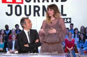 Daphné Bürki, enceinte de son deuxième enfant, annonce la nouvelle en direct