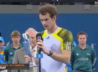 Andy Murray : Très ému, il dédie sa victoire à un ami atteint d'un cancer