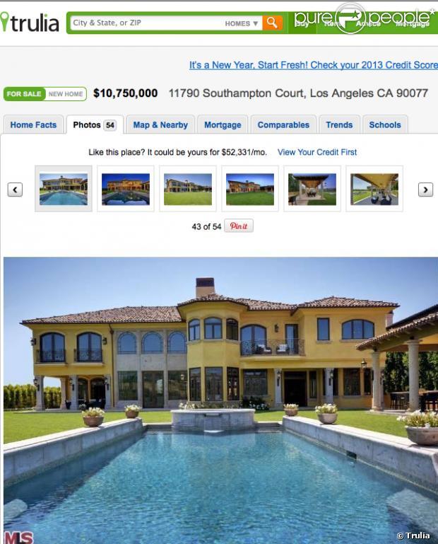 Le site trulia a mis en ligne des photos de la nouvelle for Concevoir une nouvelle maison en ligne