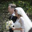 Mariage de Lily Allen et Sam Cooper, le 11 juin 2011.
