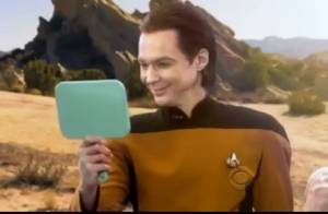 Big Bang Theory rend hommage à Star Trek, Sheldon Cooper se transforme en Spock