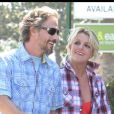 Britney Spears et Jason Trawick à Pasadena le 25 juin 2010.
