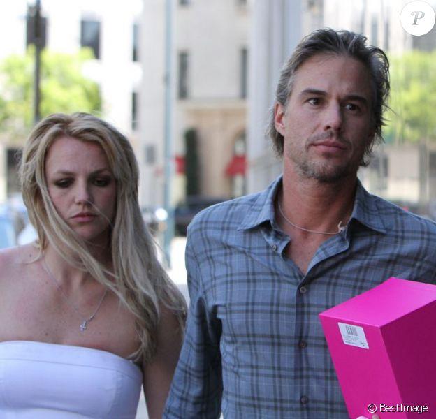 BBritney Spears et Jason Trawick à Beverly Hills, le 17 mars 2010.