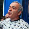 Garry Kasparov à Moscou le 17 août 2012.