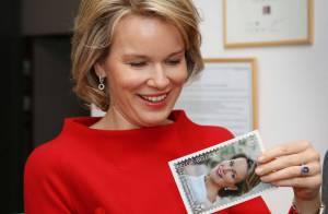 Mathilde de Belgique : La princesse superbe pour révéler le timbre de ses 40 ans
