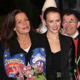 Pauline Ducruet et sa mère Stéphanie de Monacoau 37e Festival International du Cirque de Monte-Carlo le 17 janvier 2013.