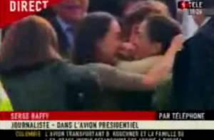 VIDEO : Les retrouvailles émouvantes d'Ingrid Betancourt et de ses enfants !