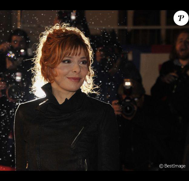 Mylène Farmer à la 13e cérémonie des NRJ Music Awards au Palais des Festivals à Cannes, le 28 janvier 2012.