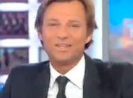 Laurent Delahousse : A deux doigts du fou rire en plein JT !
