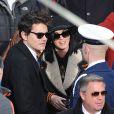 John Mayer et Katy Perry lors de la cérémonie d'investiture de Barack Obama le 21 janvier 2013 au Capitole de Washington