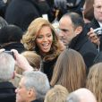 Beyoncé lors de la cérémonie d'investiture de Barack Obama le 21 janvier 2013 au Capitole de Washington